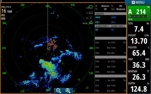 Simrad Halo Pulse Compression Radar
