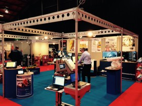 Echomaster Stand at Skipper Expo 2015